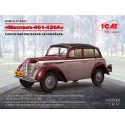 35484 ICM Москвич-401-420А, Советский легковой автомобиль, 1/35