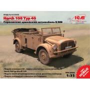 35505 ICM Horch 108 Typ 40 германский армейский автомобиль, 1/35