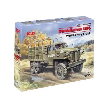 35511 ICM Studebaker US6, Армейский грузовой автомобиль, 1/35