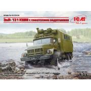 35524 ICM ЗиЛ-131 КШМ с советскими водителями, 1/35