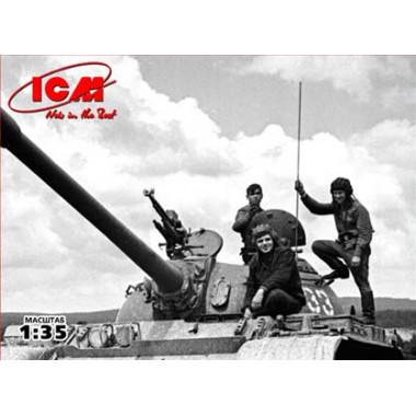 35601 ICM Советский танковый экипаж (1979-1988), 1/35