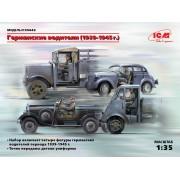 35642 ICM Фигуры, Германские водители (1939-1945 г.), 1/35