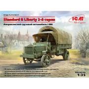 35651 ICM Standard B Liberty 2-й серии, Американский грузовой автомобиль І МВ , 1/35
