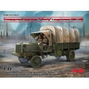 35653 ICM Standard B Liberty с водителями США I МВ, 1/35