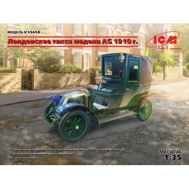 35658 ICM Лондонское такси тип AG 1910, 1/35