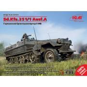 35101 ICM Sd.Kfz.251/1 Ausf.A, Германский бронетранспортер ІІ МВ, 1/35