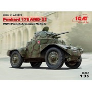 35373 ICM Panhard 178 AMD-35, Французский бронеавтомобиль 2 МВ , 1/35