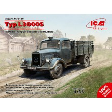 35420 ICM Typ L3000S, Германский грузовой автомобиль ІІ МВ, 1/35