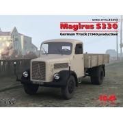 35452 ICM Magirus S330, Германский грузовой автомобиль (пр. 1949 г.), 1/35