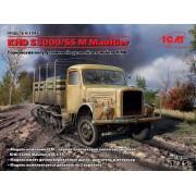 35453 ICM KHD S3000/SS M Maultier, Германский полугусеничный грузовой автомобиль ІІ МВ, 1/35