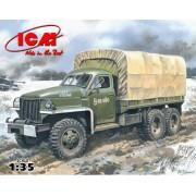 35514 ICM Studebaker US6 U4 с тентом, лебедкой, 1/35