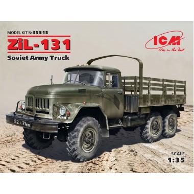 35515 ICM ЗиЛ-131, Советский грузовой автомобиль, 1/35