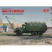 35520 ICM ЗиЛ-131 ЗиЛ-131 MTO-AT, Советский армейский автомобиль, 1/35