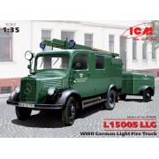 35526 ICM L1500S LLG - Германская легкая пожарная машина, 2МВ, 1/35