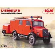 35527 ICM L1500S LF 8, Германский лёгкий пожарный автомобиль 2МВ, 1/35