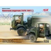 35641 ICM Фигуры Советские водители (1979-1991 г.), 1/35