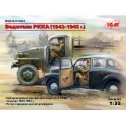 35643 ICM Фигуры, Водители РККА (1943-1945 г.), 1/35
