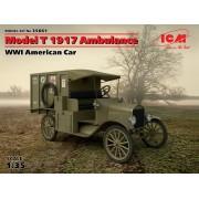 35661 ICM Model T 1917 санитарная, Американский автомобиль І МВ, 1/35