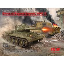 DS3506 ICM Битва за Берлин (апрель 1945 г.) (T-34-85, King Tiger), 1/35