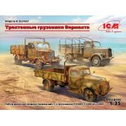 DS3507 ICM 3-т грузовые автомобили Вермахта (V3000S, KHD S3000, L3000S), 1/35