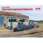DS3508 ICM 3-осные грузовые автомобили (Henschel 33D1, Krupp L3H163, LG3000), 1/35