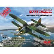 32010 ICM И-153 Чайка, Советский истребитель-биплан ІІ МВ, 1/32