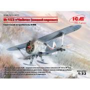 32011 ICM И-153 Чайка (зимний вариант), Советский истребитель ІІ МВ, 1/32