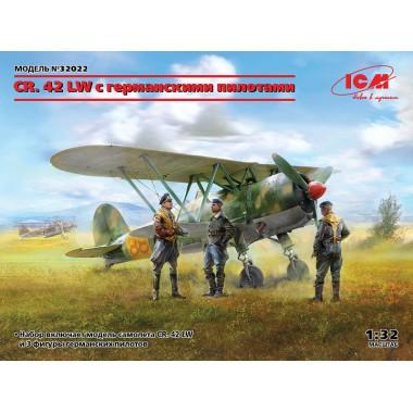 32022 ICM CR. 42 LW с германскими пилотами, 1/32