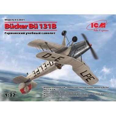 32031 ICM Bücker Bü 131B, Германский учебный самолет, 1/32