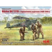 32034 ICM Bücker Bü 131D с германскими кадетами (1939-1945 г.), 1/32