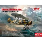 32040 ICM Gloster Gladiator Mk.I, Британский истребитель II МВ, 1/32