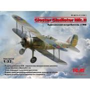 32041 ICM Gloster Gladiator Mk.II, Британский истребитель II МВ, 1/32