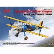 32050 ICM Stearman PT-17/N2S-3 Kaydet , Американский учебный самолет, 1/32