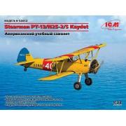 32052 ICM Stearman PT-13/N2S-5 Kaydet, Американский учебный самолет, 1/32