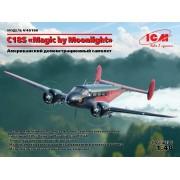 48186 ICM C18S Magic by Moonlight, Американский демонстрационный самолет, 1/48