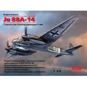 48234 ICM Ju 88A-14, Германский бомбардировщик ІІ МВ, 1/48