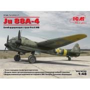 48237 ICM Ju 88A-4, Бомбардировщик стран Оси ІІ МВ, 1/48