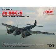 48238 ICM Ju 88С-6, Германский тяжелый истребитель ІІ МВ, 1/48