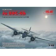 48239 ICM Ju 88С-6B, Германский ночной истребитель ІІ МВ, 1/48
