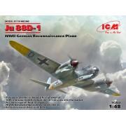 48240 ICM Ju 88D-1, Германский самолет-разведчик ІІ МВ, 1/48
