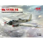 48263 ICM He 111H-16, Германский бомбардировщик ІІ МВ, 1/48