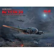 48264 ICM He 111H-20, Германский бомбардировщик ІІ МВ, 1/48
