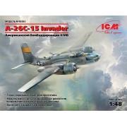 48283 ICM A-26С-15 Invader, Американский бомбардировщик II МВ, 1/48