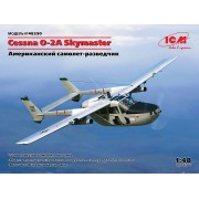 48290 ICM Cessna O-2A Skymaster, Американский самолет-разведчик, 1/48