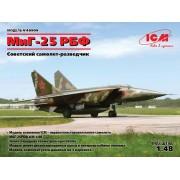 48904 ICM МиГ-25 РБФ, Советский самолет-разведчик, 1/48