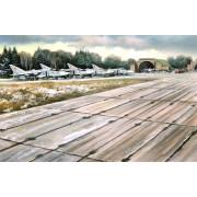 48231 ICM Советские плиты аэродромного покрытия ПАГ-14, 1/48