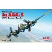 48232 ICM Ju 88A-5, Германский бомбардировщик ІІ МВ, 1/48
