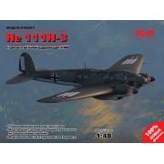 48261 ICM He 111H-3, Германский бомбардировщик ІІ МВ, 1/48