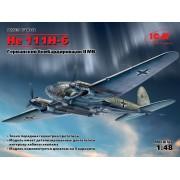 48262 ICM He 111H-6, Германский бомбардировщик ІІ МВ, 1/48