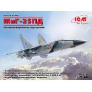 48903 ICM МиГ-25ПД, Советский истребитель-перехватчик, 1/48